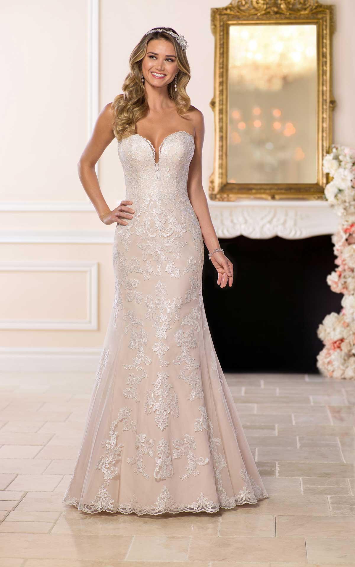 Stella York discounted sale wedding dress